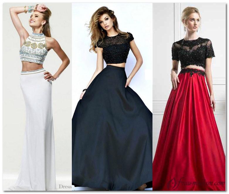 Вечернее платье топ юбка