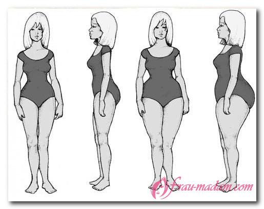 Яичниковый тип фигуры у женщин