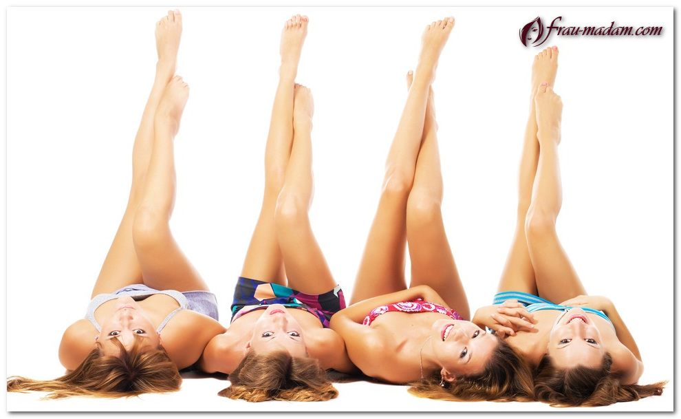 девушки с гладкими ногами