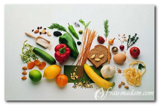продукты для углеводного типа метаболизма