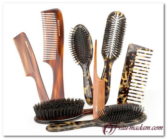 как расчесать запутанные волосы