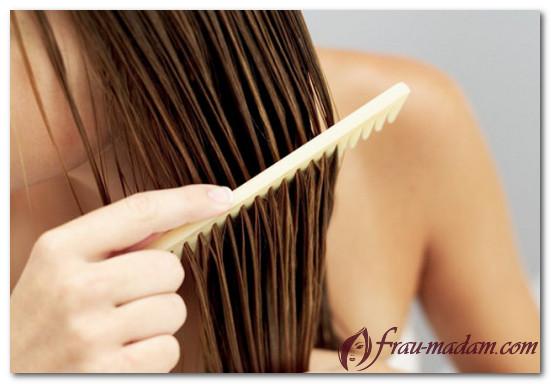 как легко расчесать волосы