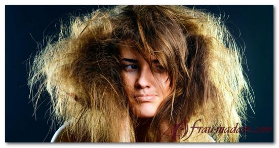 как быстро расчесать запутанные волосы