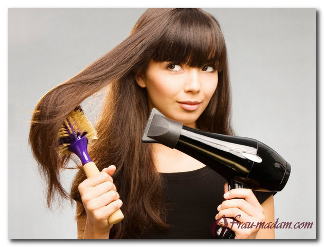как выпрямить кудрявые волосы в домашних условиях