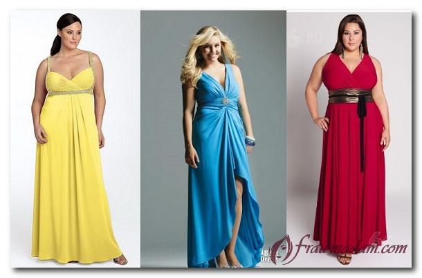 платье в стиле ампир для полного прямоугольника