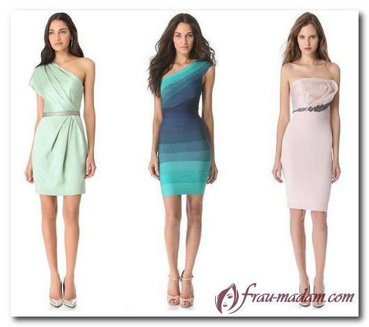 вечерние платья для прямоугольников