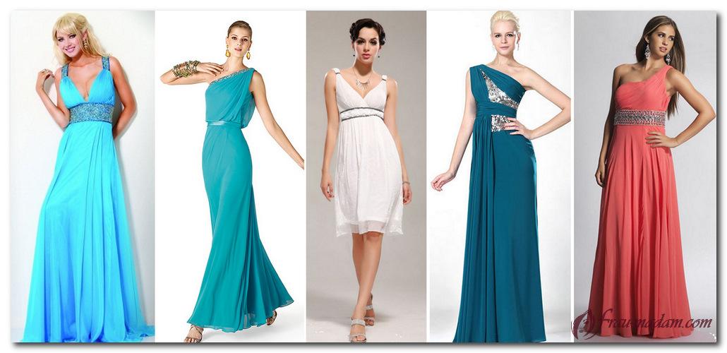 платье в греческом стиле для фигуры прямоугольник