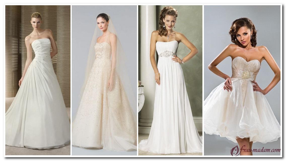 свадебное платье для типа фигуры прямоугольник