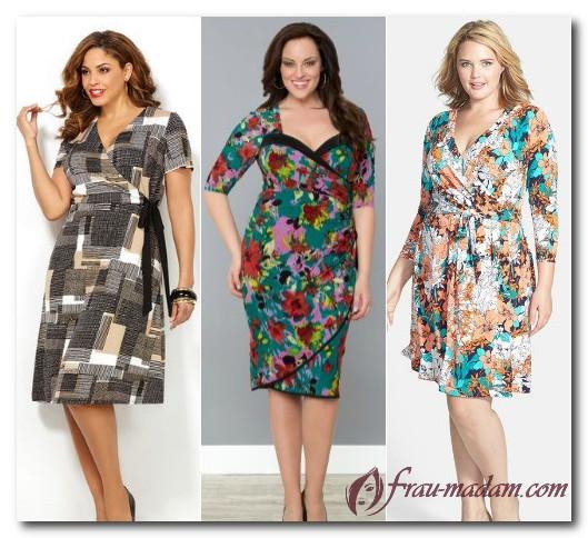 платья для женщин с фигурой груша