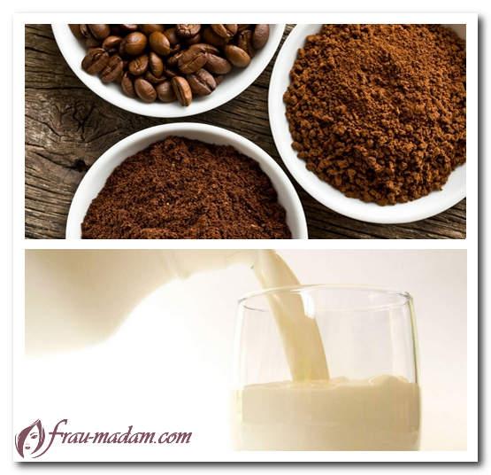 скраб из молотого кофе для тела