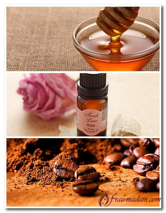 Скраб кофе с медом в домашних условиях