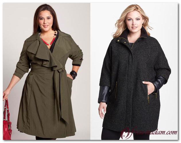 женская зимняя одежда для полных