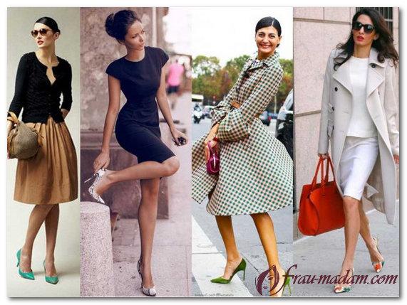 стильная женская деловая одежда фото