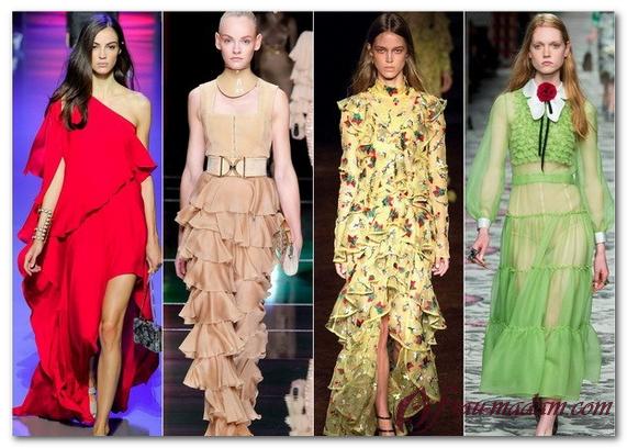 новые коллекции женской одежды весна лето 2016
