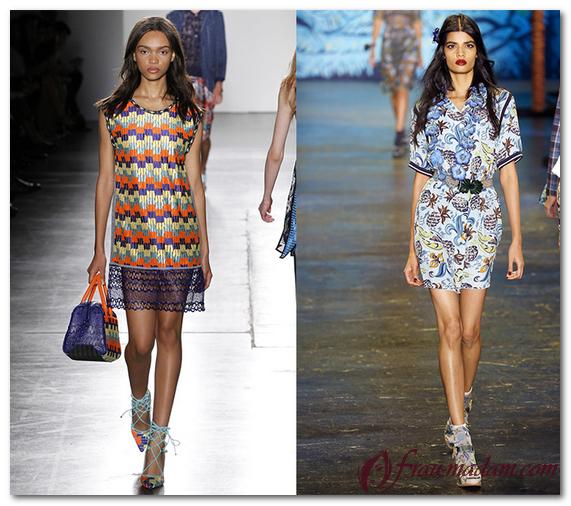 модные тенденции в женской одежде лето 2016