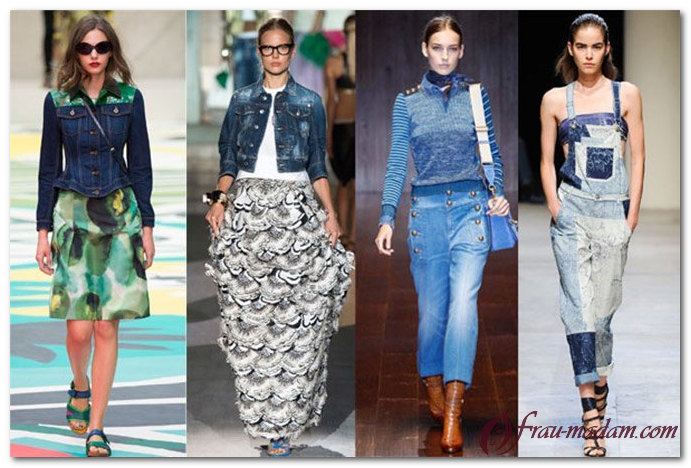 летняя стильная женская одежда