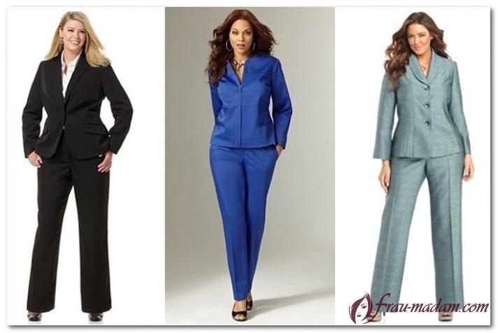 Красивая женская одежда больших размеров