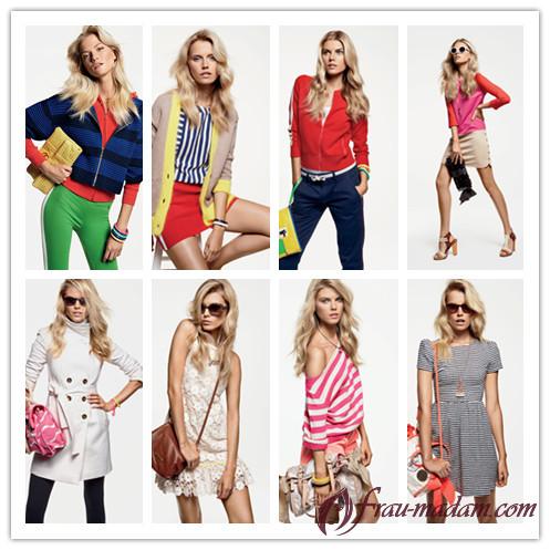 модели летней женской одежды