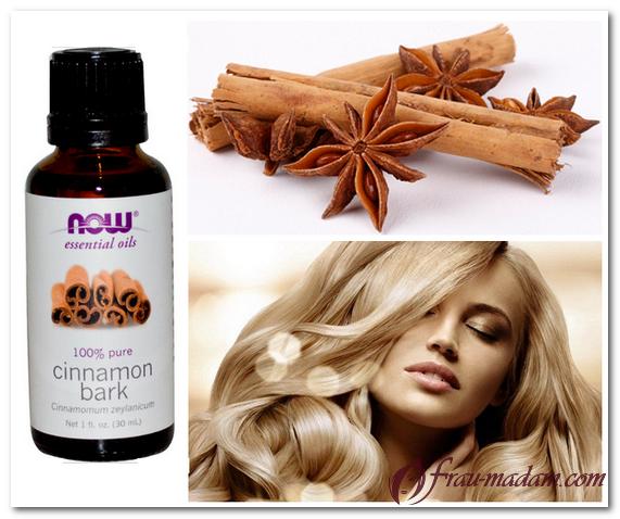 масло корицы для волос