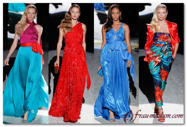 Модная линия женской одежды и марки одежды