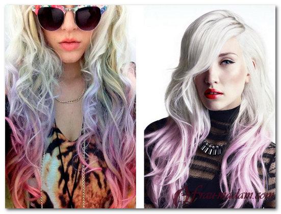 амбре на светлые волосы