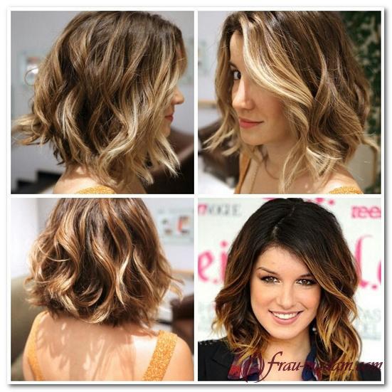 окрашивание волос омбре фото на длинные волосы