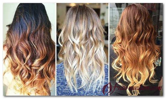 Фото покрасок волос с технологией