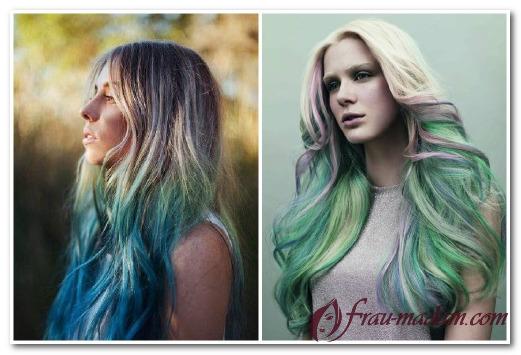 Как сделать модное омбре на своих светлых волосах?