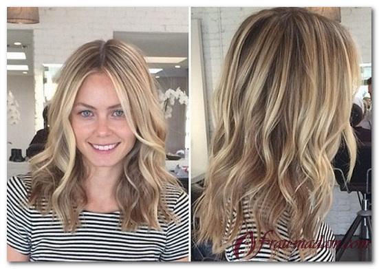 Какую технику балаяж выбрать для светлых волос