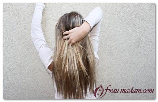 Как выглядит окрашивание балаяж на светлых волосах?