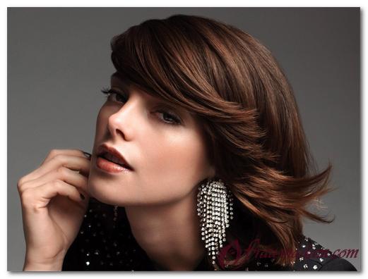 Окрашивание волос балаяж на темные короткие волосы