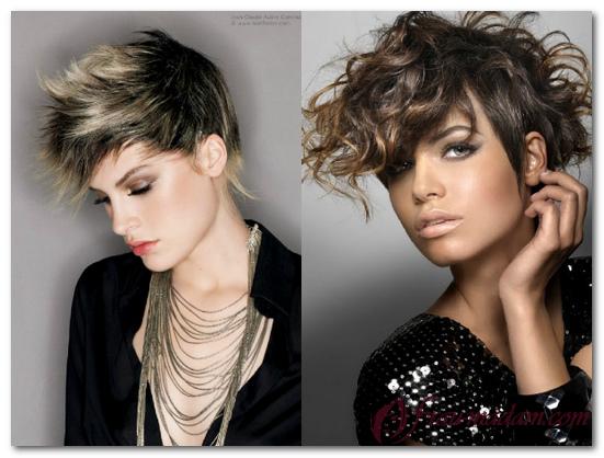 двойное окрашивание волос фото белый и темный