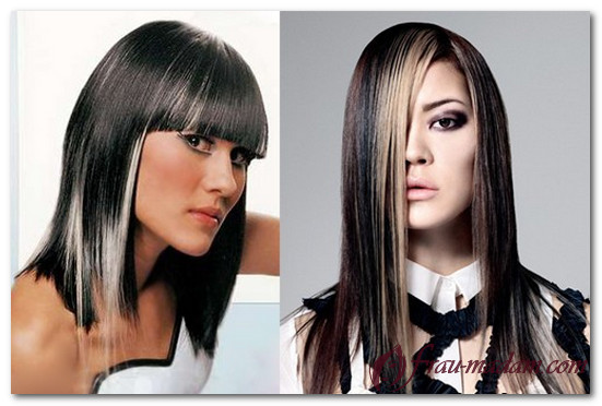 варианты окрашивания волос для брюнеток