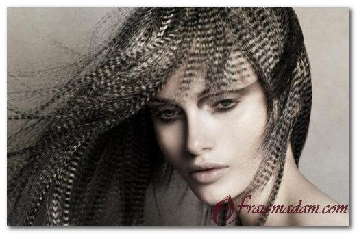 Креативные рисунки на волосах - новый стиль окрашивания волос