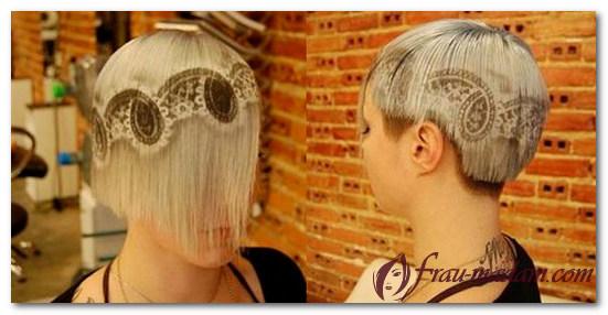 художественное окрашивание волос