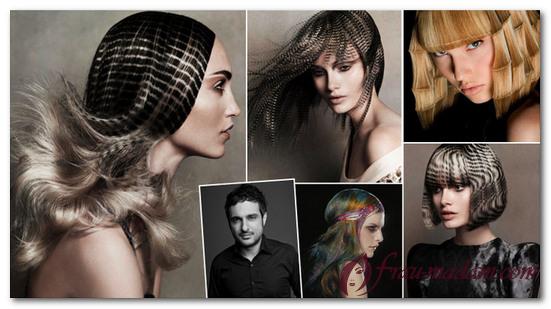 блочное окрашивание волос схемы