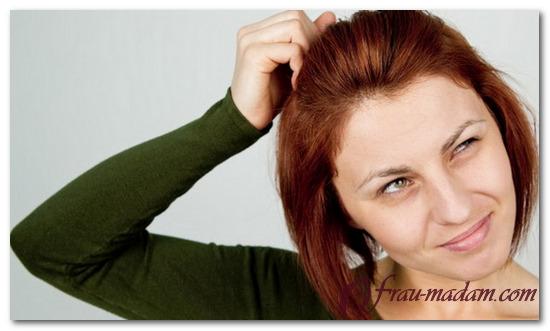 после покраски волос чешется голова что делать