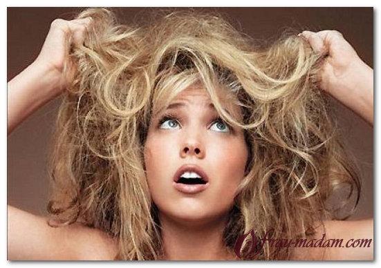 сухие волосы после окрашивания что делать