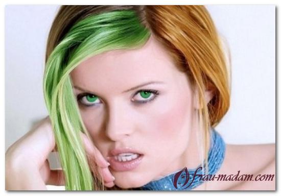 как убрать зеленый оттенок после окрашивания волос