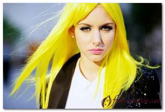 как убрать желтый цвет волос после окрашивания