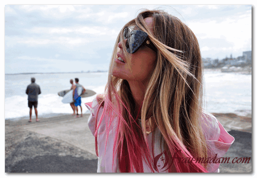 Как удачно окрасить волосы с эффектом омбре?