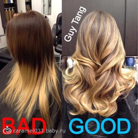 амбре покраска волос фото