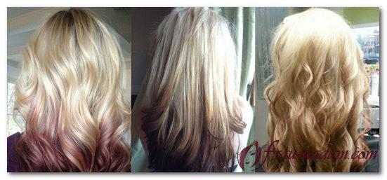 амбре покраска волос