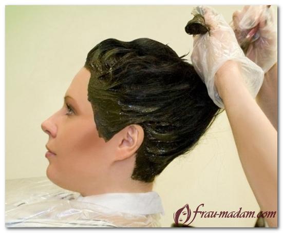 окраска волос хной в домашних условиях