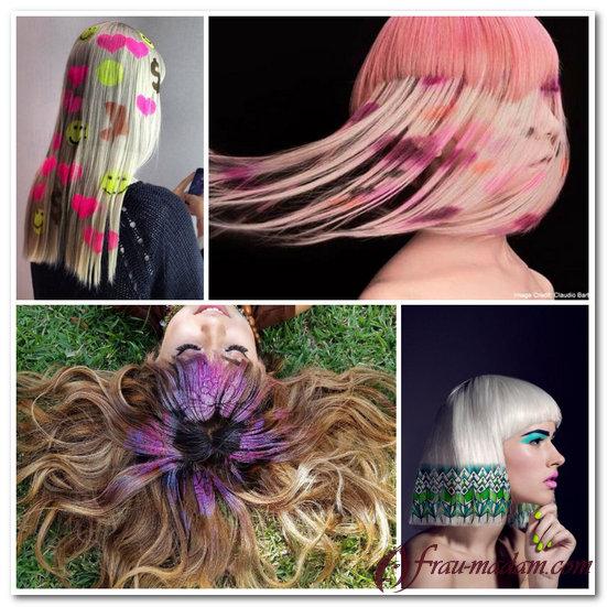 окраска волос 2016 на длинные волосы