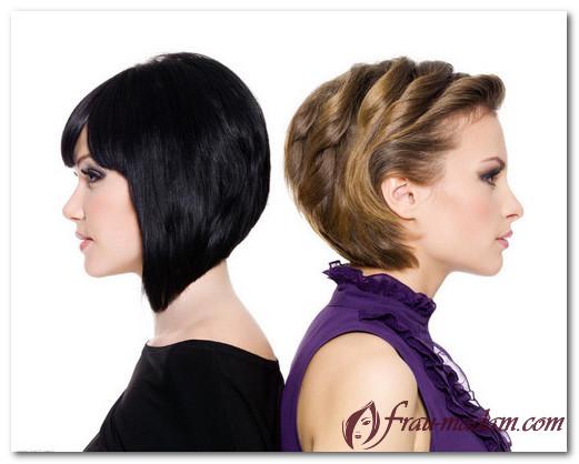 Как красиво покрасить короткие волосы: варианты образов?