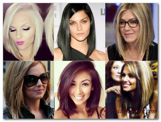 Креативное окрашивание волос средней длины