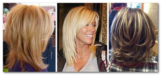 креативное окрашивание волос средней длины фото