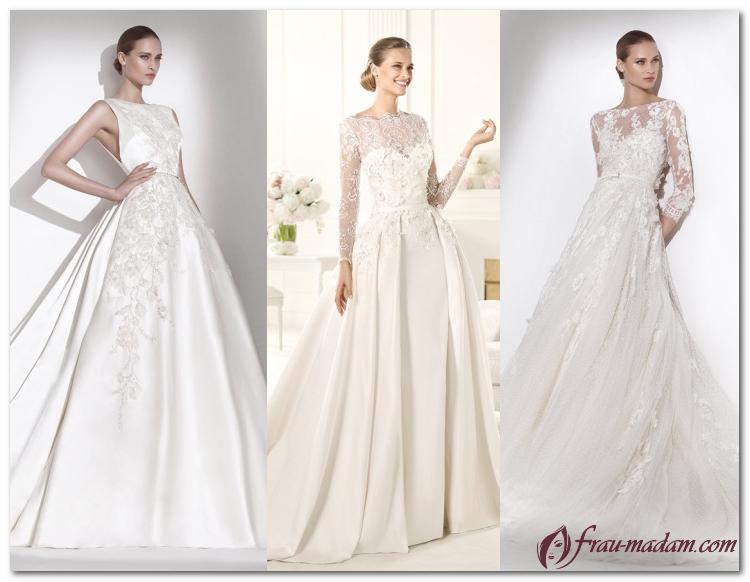 свадебные платья 2017 года фото