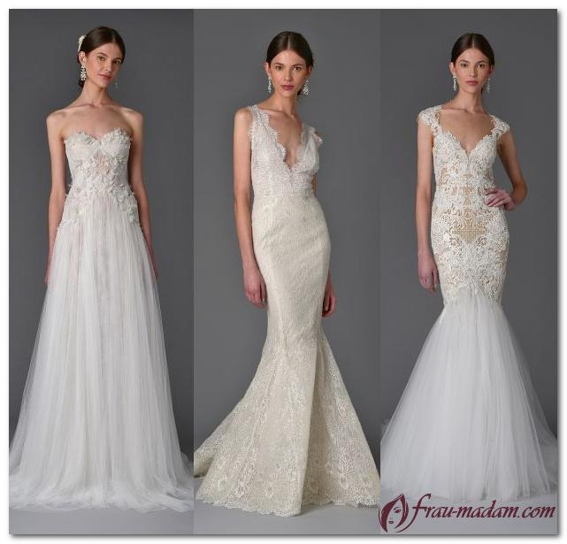 мода свадебные платья 2017